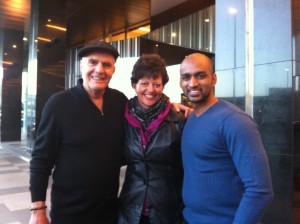 Wayne Dyer, Jill Hutchison and the Sri Lankan Doctor in Melbourne!